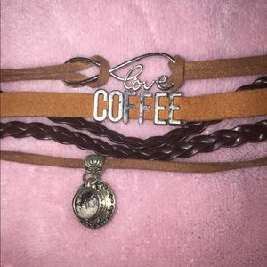 Antique Coffee Bracelet